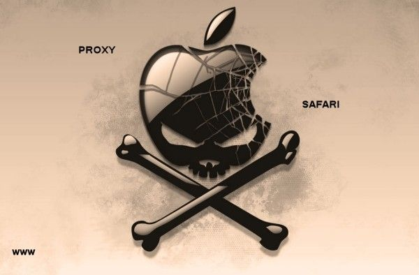 Configurer proxy avec Safari