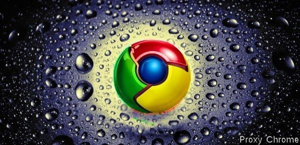 Configurer un proxy avec Chrome