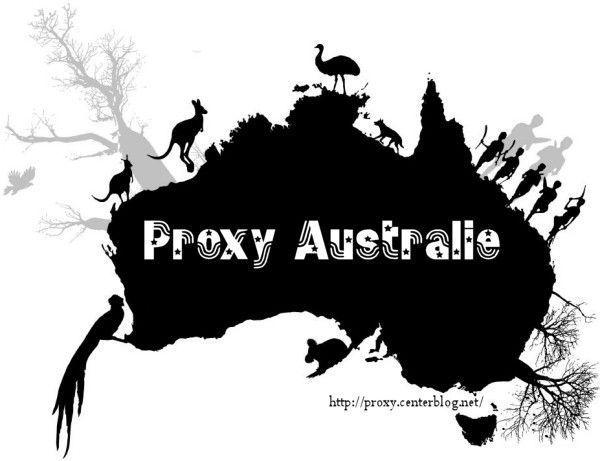 Proxy liste Australie