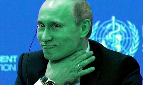 Vladimir Poutine et liste de proxy russe